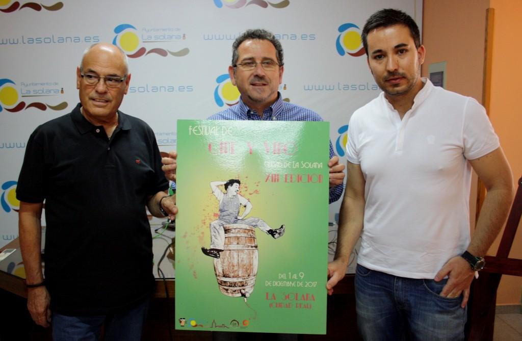 Presentación cartel oficial festival cine y vino