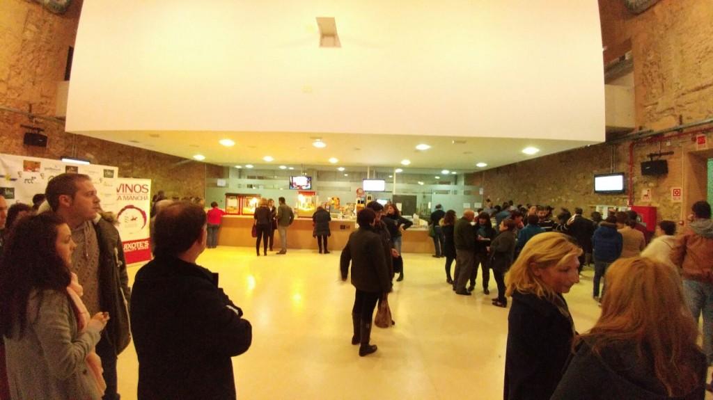 Hall del cine de La Solana