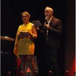 Marina Moreno y Paco Romero (Director del festival)