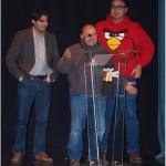 Javier León, Mención Especial 2013 con Guasap, con Emilio Hidalgo y Jesús Flores