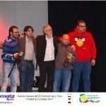 Equipo de Guasap con el director del festival